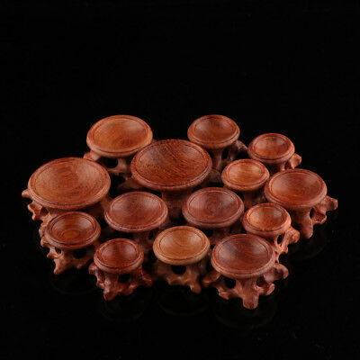 Acid Branch Wood Display Stand Base For Crystal Ball Sphere Globe Stone Decor HQ