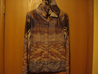 One World, Large, Beautiful Print, Zipper Front Hoodie, MUST SEE, LOOK