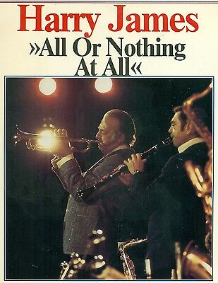 Harry James all or Nothing at all American Jazz & Blues History VOL.160 LP L8235