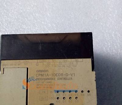 Used 1PC Omron PLC CPM1A-10CDR-D-V1