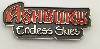 Ashbury Endless Skies Official Metal Pin Heavy Metal Hard Melodic Rock