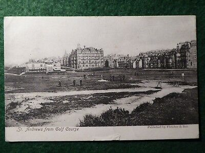 Fife.  St Andrews. Golf Links.  Fletcher & Son.  1905.