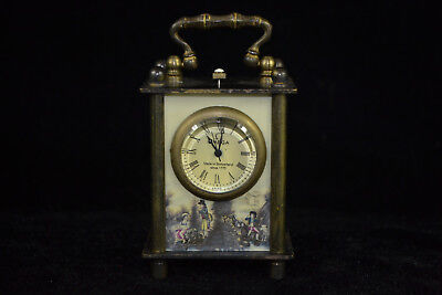 Copper fiugre good Used Manual mechanical watch armstrong's patent Pocket Watch