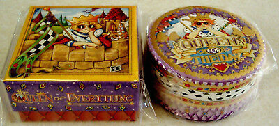 """MARY ENGELBREIT """"QUEEN"""" Small TRINKET GIFT BOXES-Pooch & Sweetheart-NEW"""
