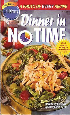 Pillsbury-Classic Cookbooks-Dinner In No Time-May 1996-#183-93 Pages