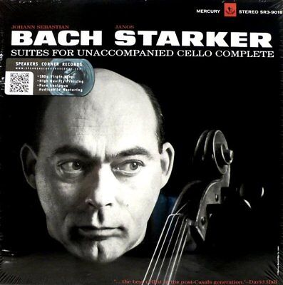 Mercury  Sr3-9016  Bach Die Cello Suiten  Janos Starker 6 Cello Suites
