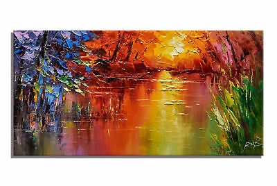 Abstract Scenery Home Decor Canvas Art Wall Pure Hand-Painted Oil Painting