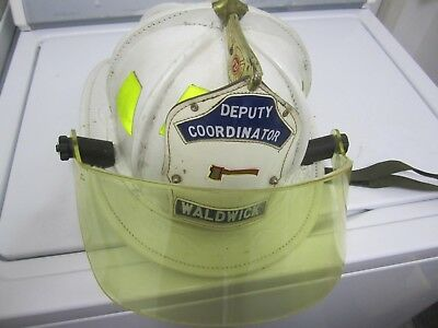 Cairns Firefighter Helmet with Shield genuine,