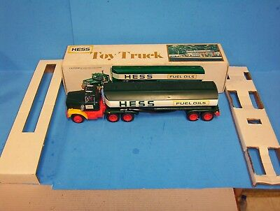 Vintage 1977 Hess Tanker Truck With Original Box And Inserts Works
