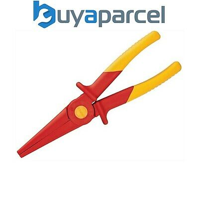 Knipex 98 62 02 Long Nose Plastic Insulated Pliers 220mm Spark Free KPX986202