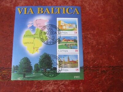 Lithuania 1995 Via Batica Motorway Project . MS Used