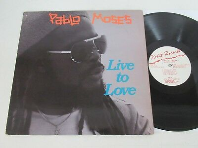 Pablo Moses/live To Love  Lp 1987 Usa Rohit Rifw-L-9301