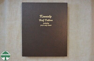 USED KENNEDY HALF DOLLAR DANSCO ALBUM #8166 - 1964 to 1997 - NO COINS