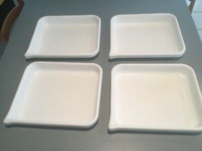 Lot Of 4 Cesco-Lite Plastic Darkroom Developing Tray Read Details ( 8 X 10)