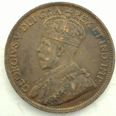 Canada 1917 Large Cent  Choice Uncirculated Br