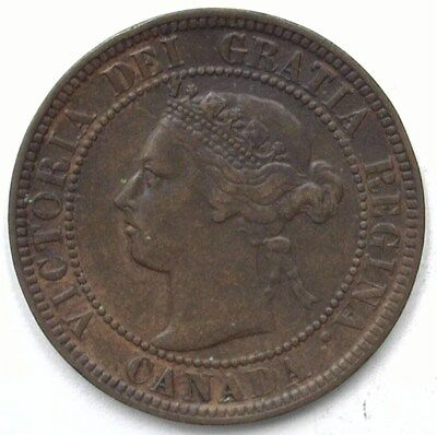Canada 1896 Large Cent  Uncirculated Brown