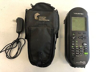 Wavetek Micro-Stealth MS 1400 CATV Meter with Charger Case Coax Cable Installer