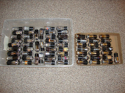 1-15 Tested Good Globe Ceco Ux-201A Radio Tubes Type 01A Ken-Rad Perryman Nu +++
