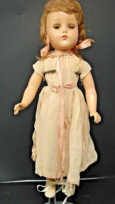 1930s 40s VINTAGE R&B ARRANBEE COMPOSITION DOLL maybe Nancy?
