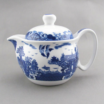 Landscape Willow Teapot Tea Pot with Removeable Strainer filter 300ml