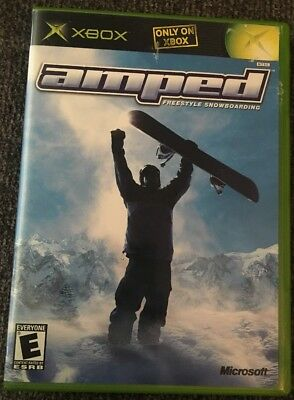 Amped: Freestyle Snowboarding (XBOX) | PERFECT CONDITION | Ships within 24hrs!