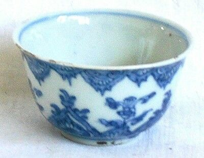 C18Th Chinese Blue And White Tea Bowl