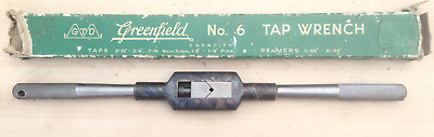 GTD Greenfield Tool & Die No. 6 - 14 1/2 In. Tap Wrench