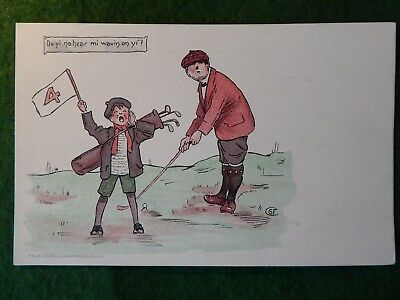 Golf Humour. George Fyfe Christie.  Undivided Back.