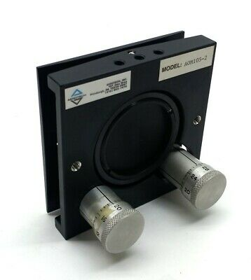 """Aerotech A0M105-2 Laser Turning Mirror 2"""" 45° X&Y Adjustment Max Re 1.06m/.633m"""