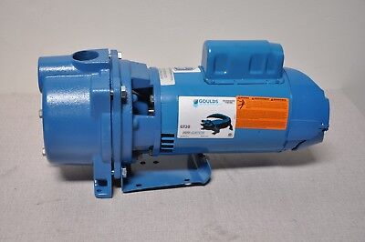 "GOULDS GT15 120/240VAC Cast Iron Centrifugal Pump 1-Phase 1-1/2"" NPT Inlet Size"