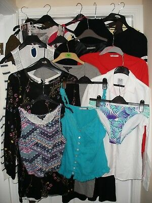 Ladies Size 12 Bundle 17 Items In Total Incl. Next, New Look, Nike, Mango, Zara