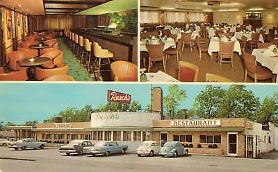 Two Classic Volkswagen's Autos Int/ext At Rusch's Restaurant ~ Dunkirk Ny