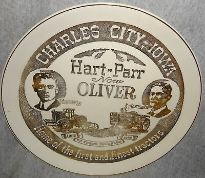1965 Hart-Parr / Oliver 63 Years Of Progress Plate