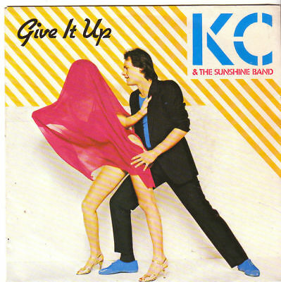 "KC & The Sunshine Band "" Give It Up /It's Too Hard To Say Goodbye"" 7-Single 1982"