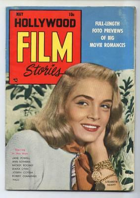 Hollywood Film Stories #2 Golden Age-Feature Publications FN   {Randy's Comics}