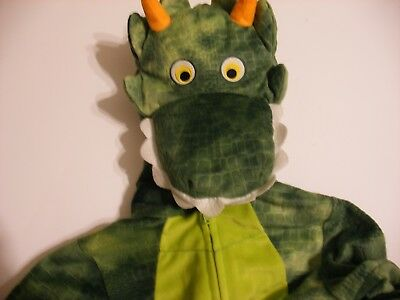 Toys R Us Koala Kids Green Geoffrey Halloween Costume Size 4T/5T Dragon