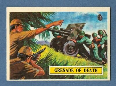1965 Topps BATTLE #4 Grenade of Death *Excellent-Mint*