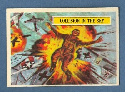 1965 Topps BATTLE #5 Collision in the Sky *Excellent-Mint*