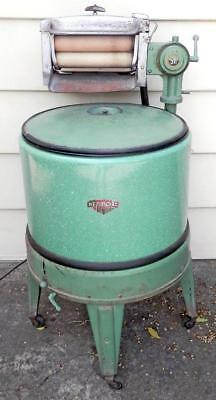 vintage 1930s-40s KENMORE (Sears) WRINGER washing machine washer GREEN