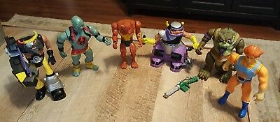 Vintage Lot 1985 LJN Thundercats 6 Figures