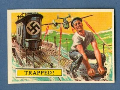 1965 Topps BATTLE #24 Trapped! *VeryGood-Excellent*