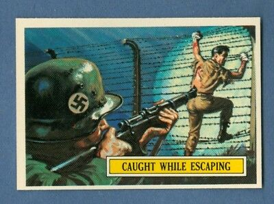 1965 Topps BATTLE #28 Caught While Escaping *NearMint-Mint*