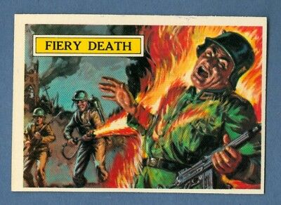1965 Topps BATTLE #42 Fiery Death *NearMint*