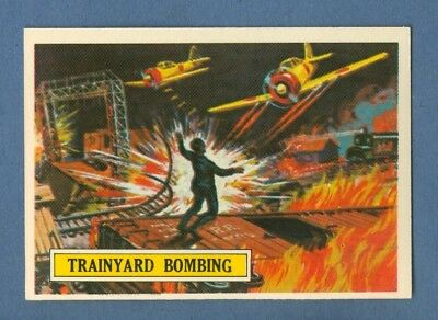 1965 Topps BATTLE #45 Trainyard Bombing *NearMint-Mint*
