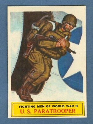 1965 Topps BATTLE #57 U.S. Paratrooper *NearMint-Mint*