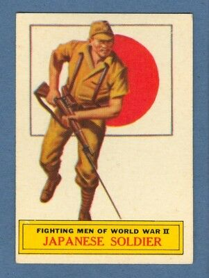 1965 Topps BATTLE #58 Japanese Soldier *Excellent-Mint*