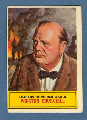 1965 Topps BATTLE #61 Winston Churchill *VeryGood-Excellent*