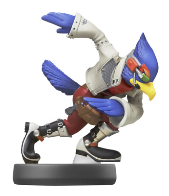 Nintendo amiibo Smash Falco 52 NEW