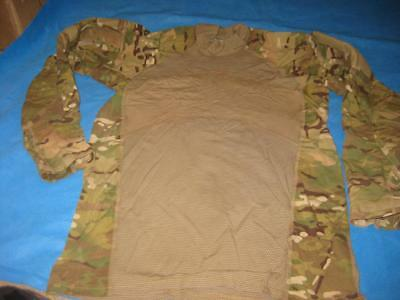 Multicam Acs Combat Uniform Shirt Fire Resistant Massif Large Nwot 4856