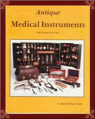 Antique Medical Instruments! Key Collector Reference! Hard To Find! Oop